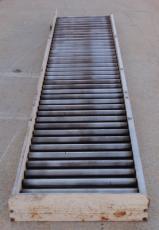 """EMI 120"""" x 24"""" Roller Conveyor"""